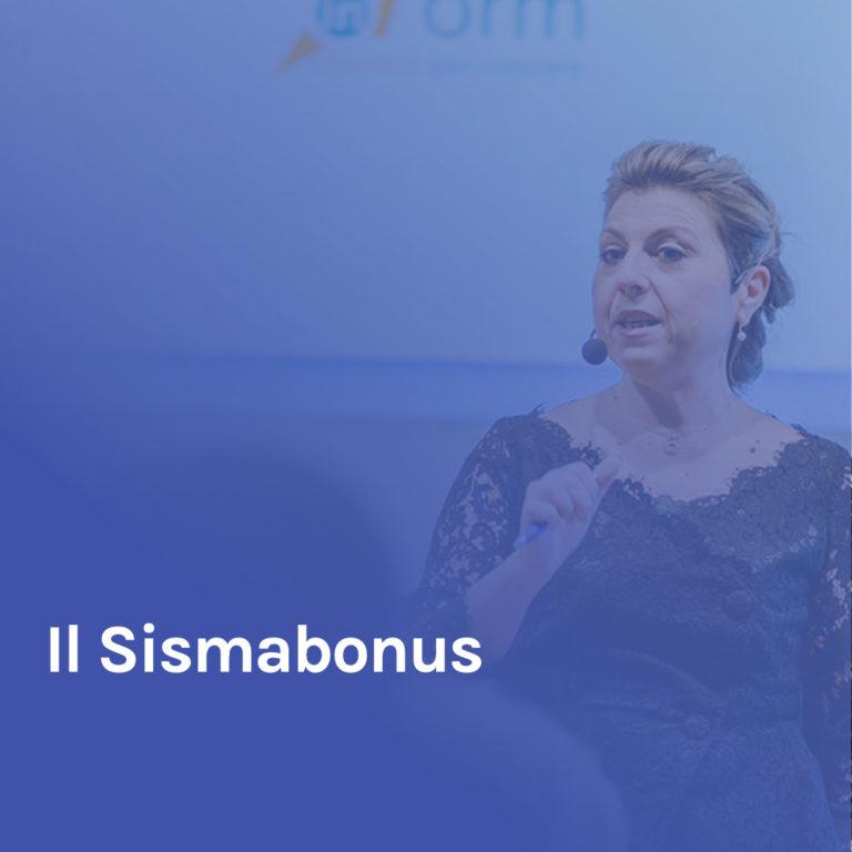 Minicorso 6 – Il Sismabonus