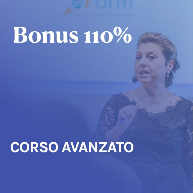 "Corso ""Bonus super 110%"" – Avanzato"